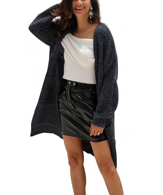 Glamaker Womens Cardigan Sweater Outwear