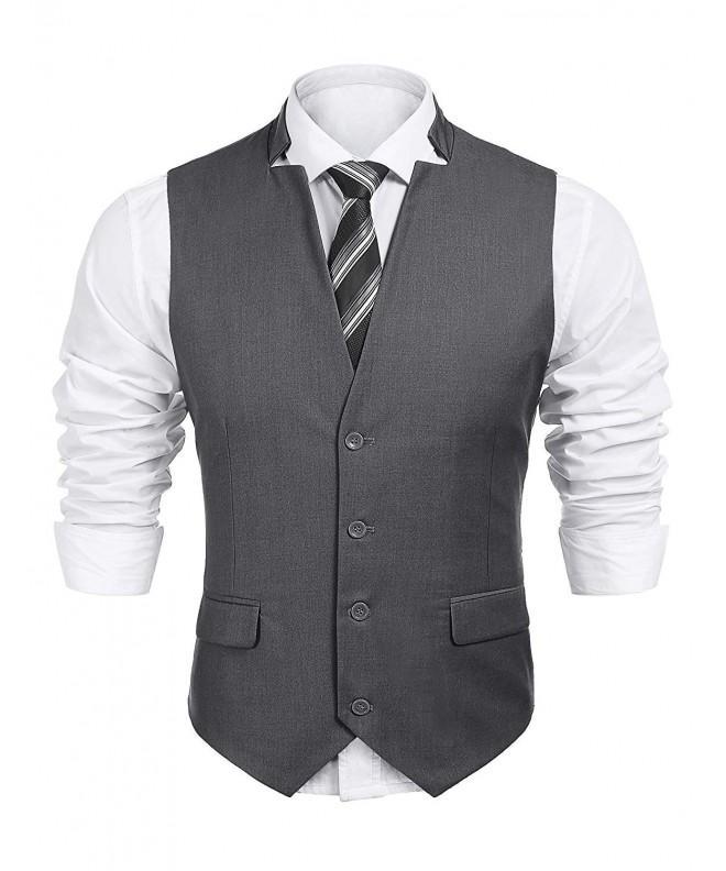 Jinidu V neck Sleeveless Jacket Business