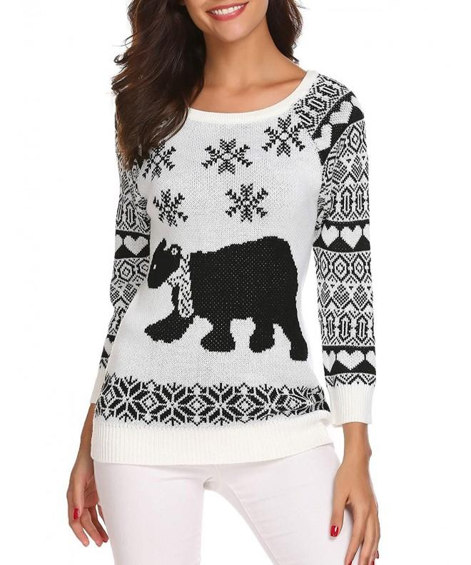 Billti Christmas Knitted Pullover Sweater