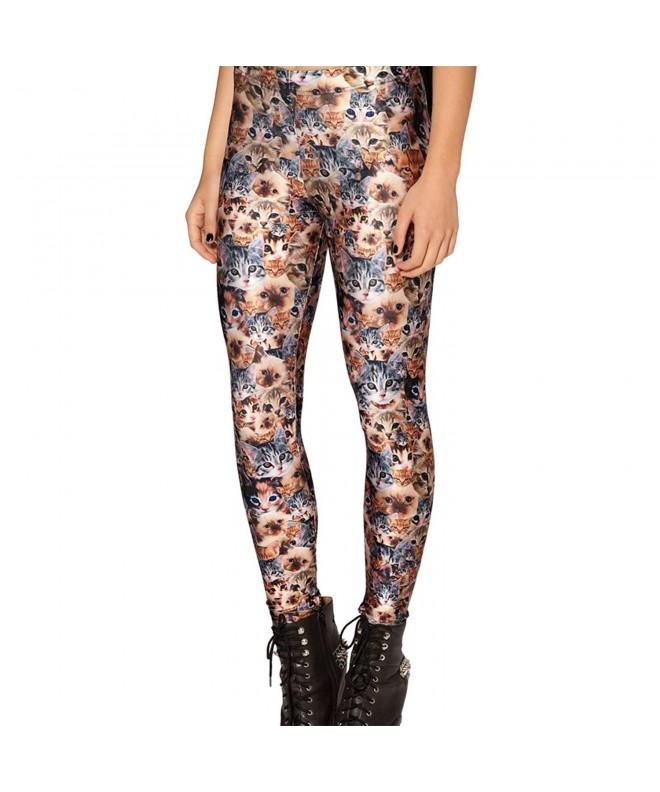 Celewe Womens Digital Pattern Leggings