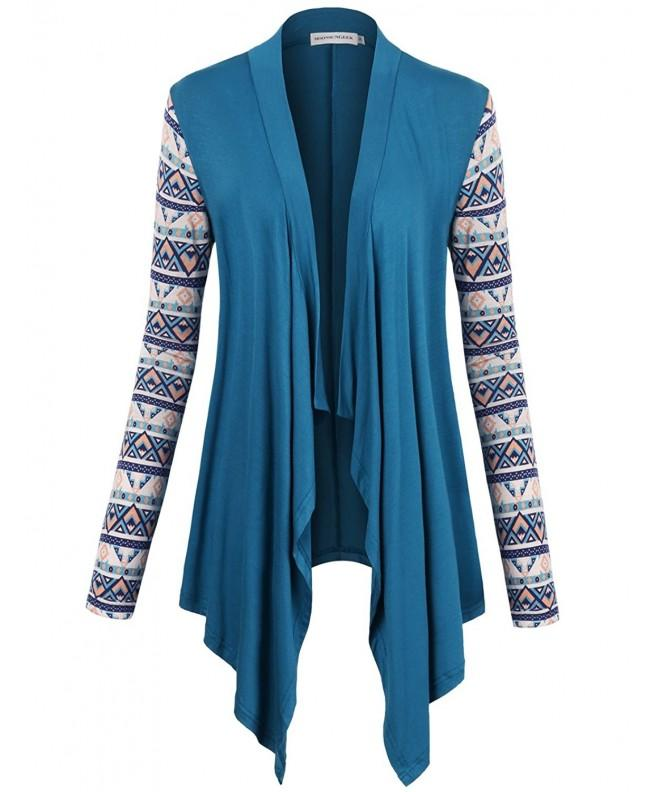 MOOSUNGEEK Cardigan Irregular Collar Cardigans