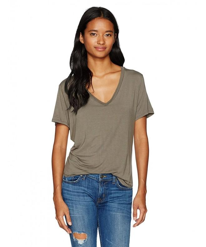 Volcom Womens Lived T Shirt Brown