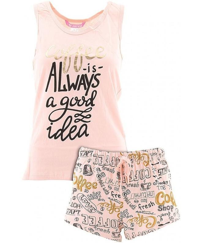 Love Loungewear Juniors Coffee Pajamas