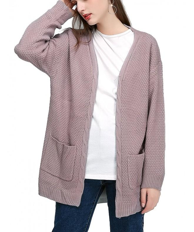 JCBABA Cardigan Sweater Womens Outerwear