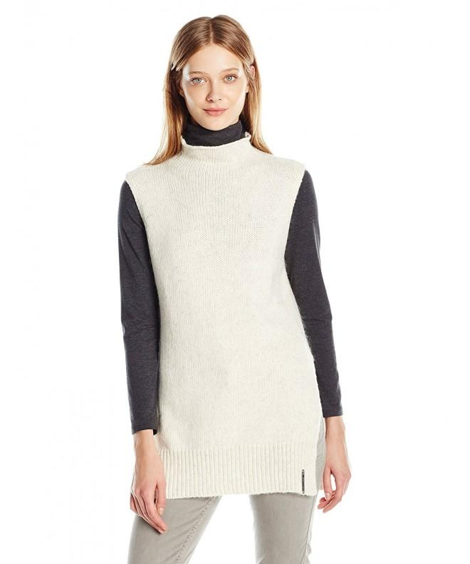 Noisy May Sleeveless Funnelneck Sweater