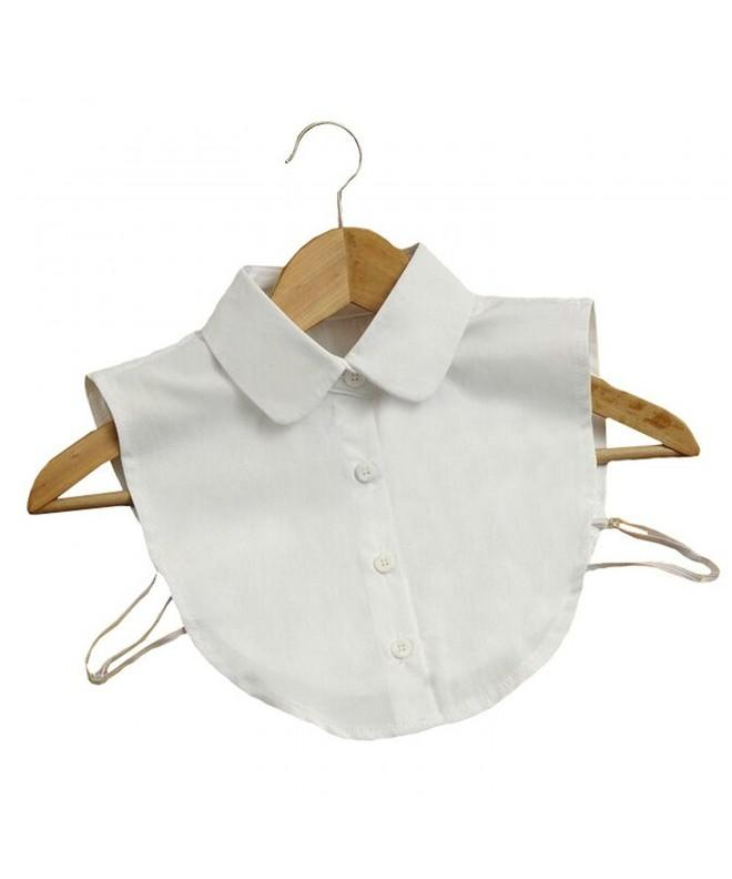 Joyci Fashion White Collar Detachable