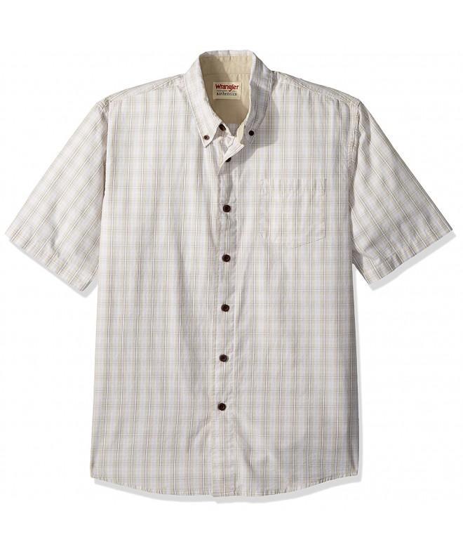 Wrangler Authentics Short Sleeve Drizzle