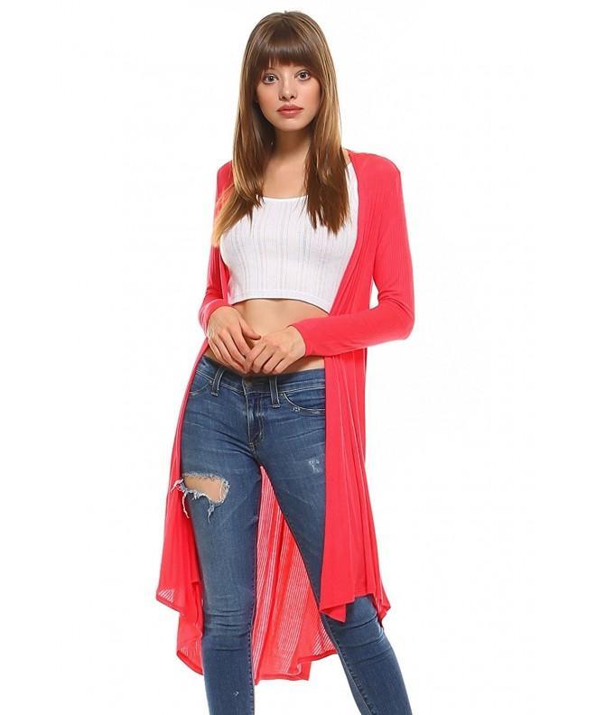 Frumos Womens Cardigan Sleeve 3X Large