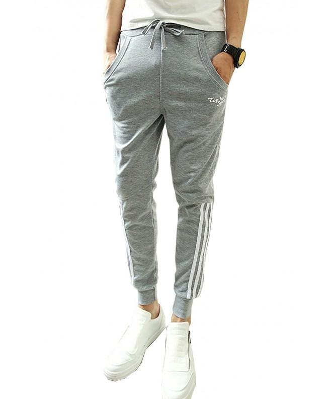 TOP HERE Drawstring Sweatpants Trousers