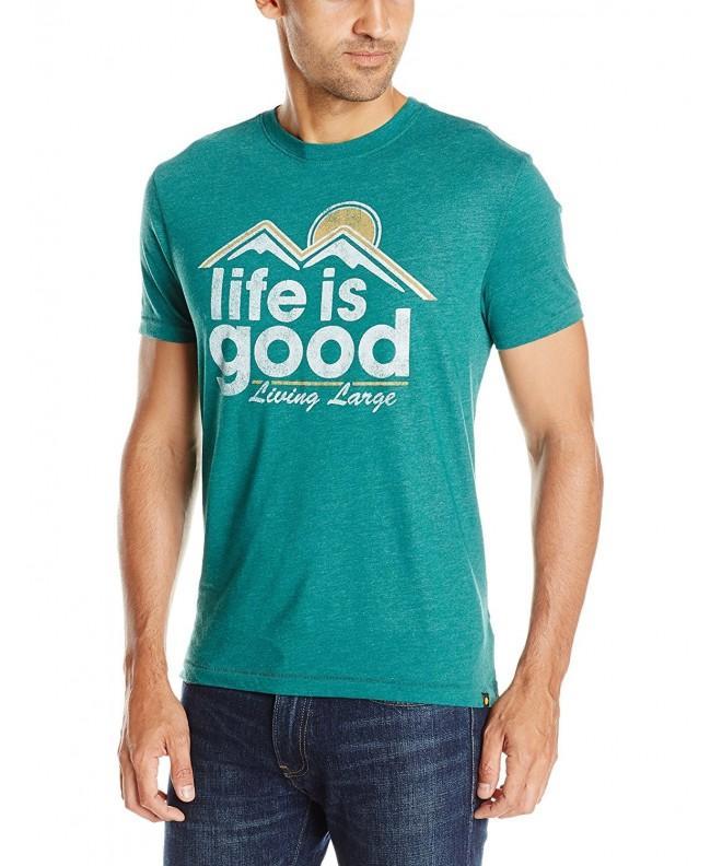 Life Living T Shirt Hunter Medium