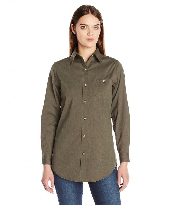 Backpacker Womens Nailhead Shirt Large