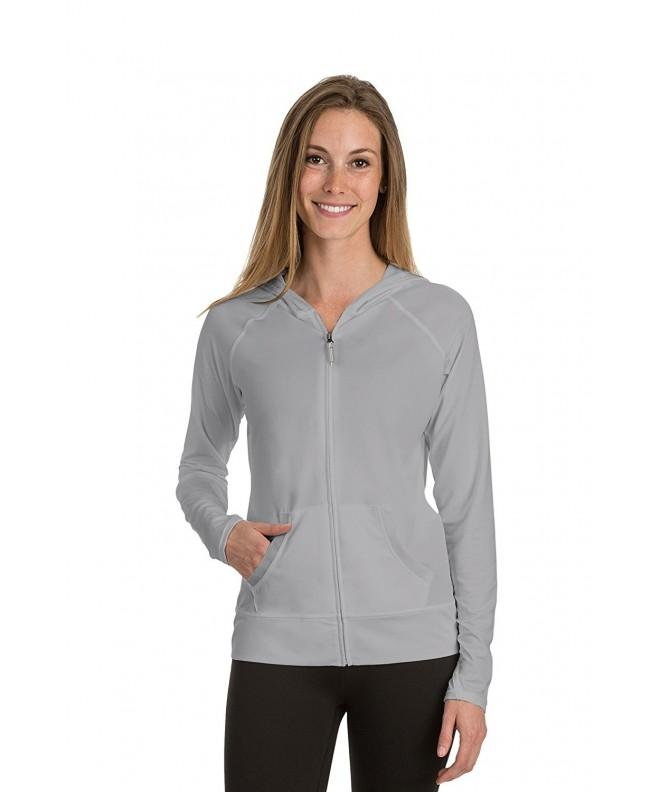 Soybu Womens Endurance Hoody Platinum