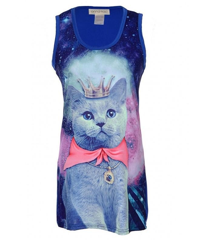 Anna Kaci Womens Galaxy Kitty Strange