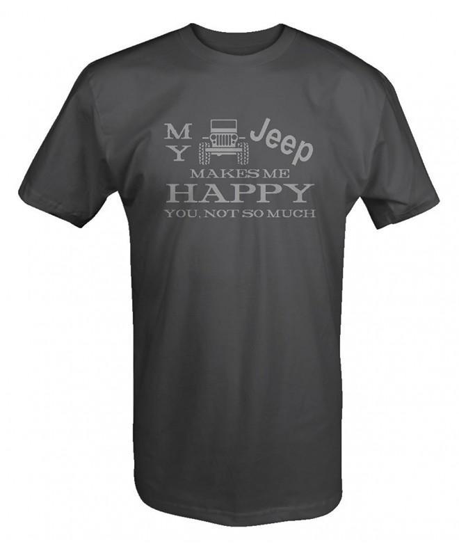 JEEP Wrangler Makes Happy Shirt