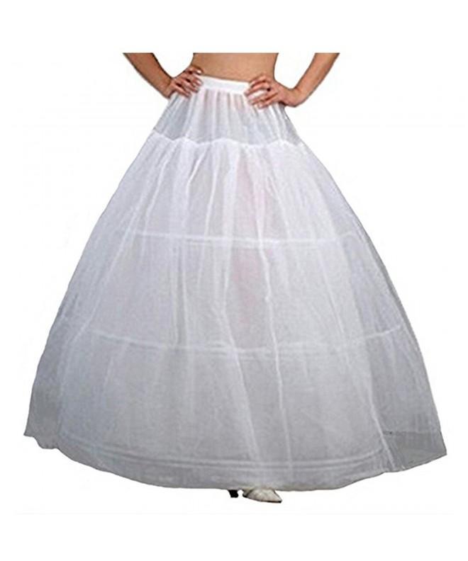 CUNOVA Hoopless Petticoat Crinoline Underskirt