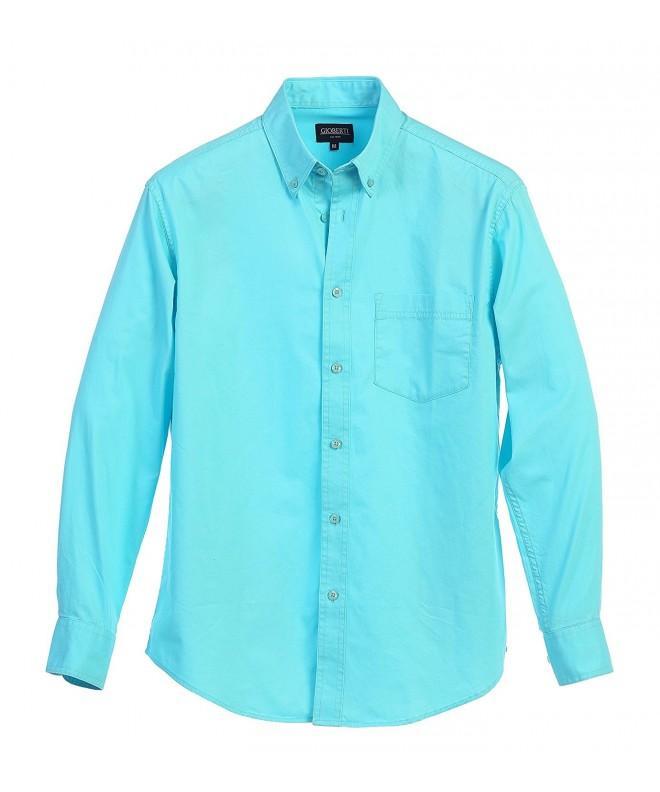 Gioberti Sleeve Casual Twill Shirt