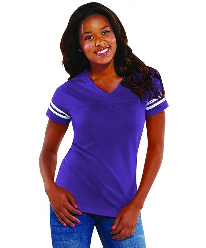 LAT Ladies Football Purple White