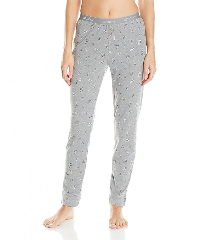 Jockey Womens Printed Waistband Heather