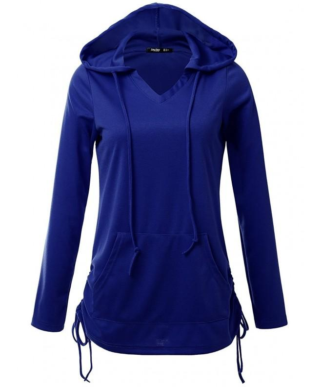 JayJay Casual Lightweight Sweatshirt Royalblue