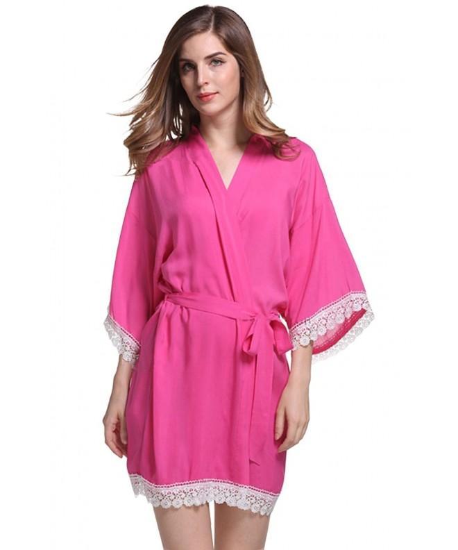 Cityoung Womens Cotton Kimono Short
