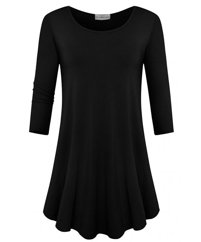 JollieLovin Womens Sleeve Black 1X