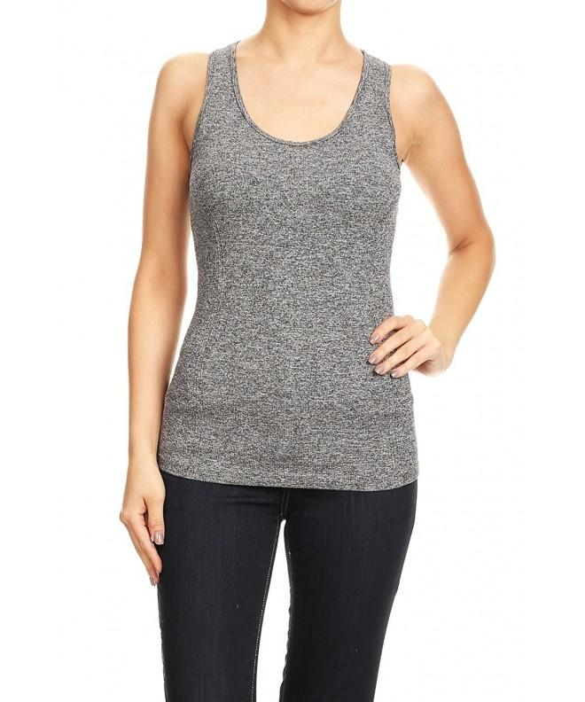 Active Heather Stretch Racerback HEATHER