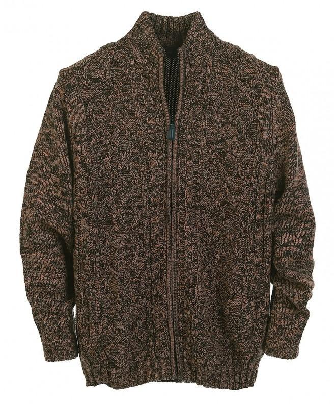 Gioberti Cardigan Twisted Full Zipper Sweater