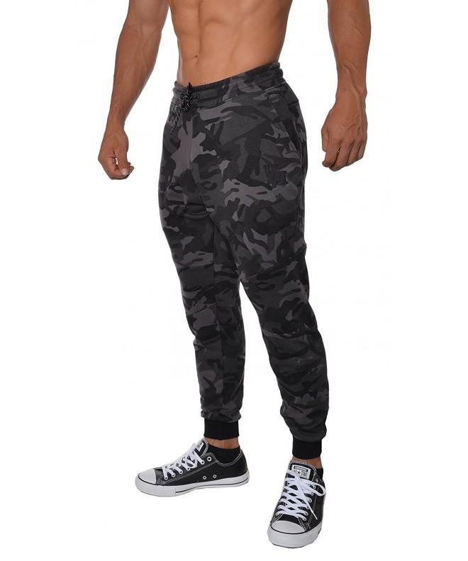 YoungLA French Cotton Sweatpants Camouflage