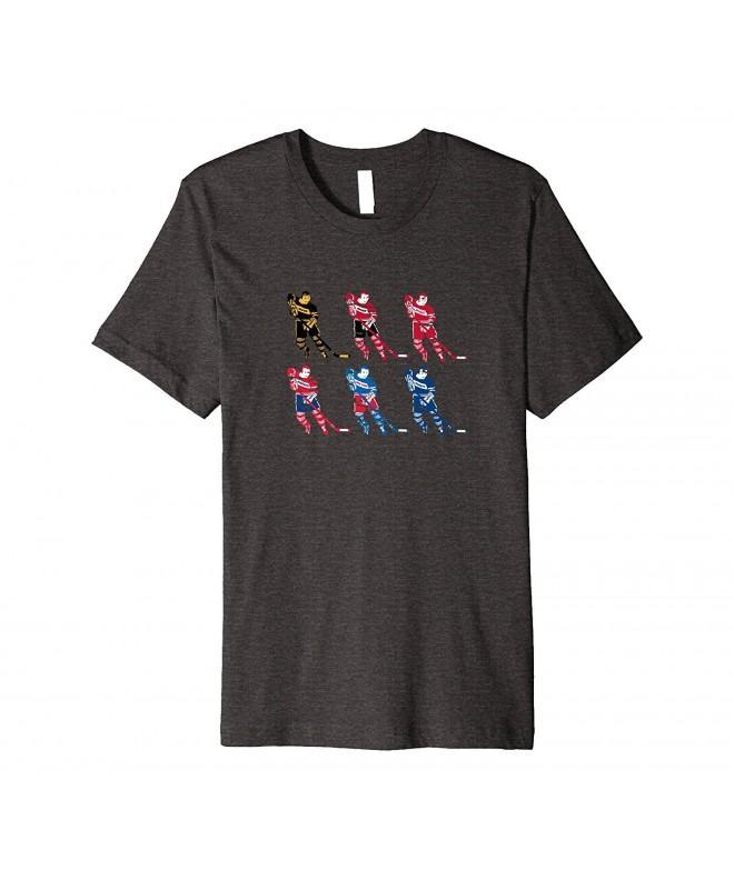 Original Hockey T Shirt Vintage Heather