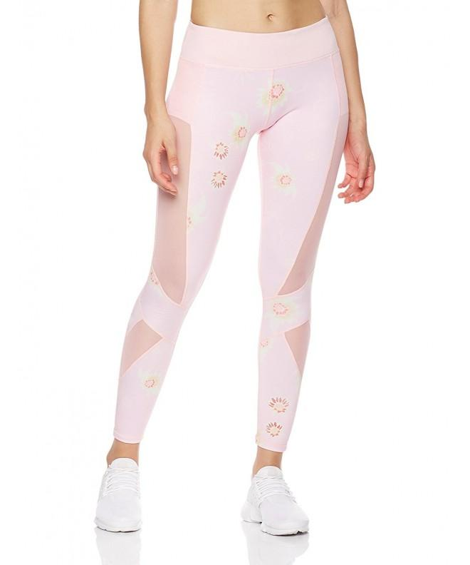 Mint Lilac Womens Printed Pants