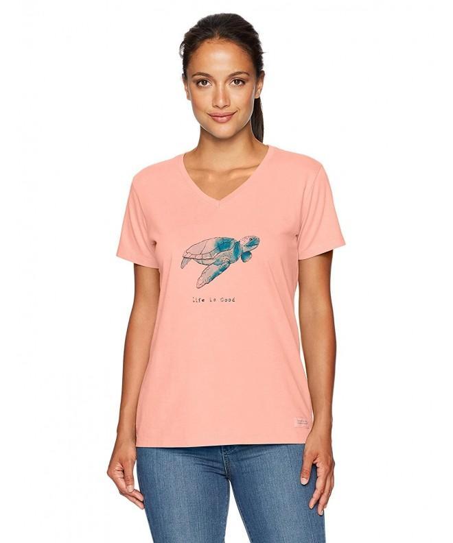 Life Womens Crusher Turtle T Shirt