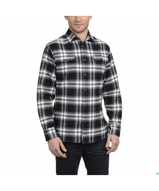 JACHS Brawny Flannel Shirt Black