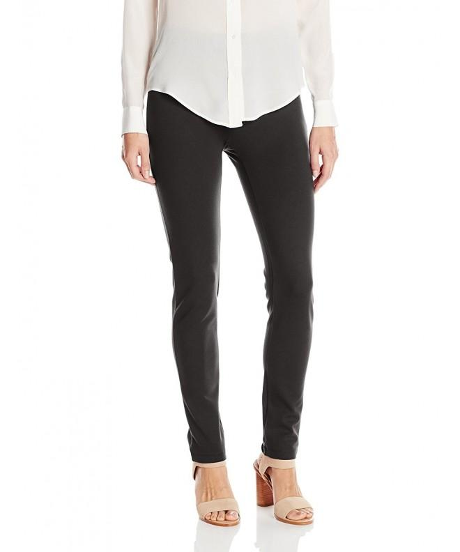 SLIM SATION Womens Solid Inseam Opening