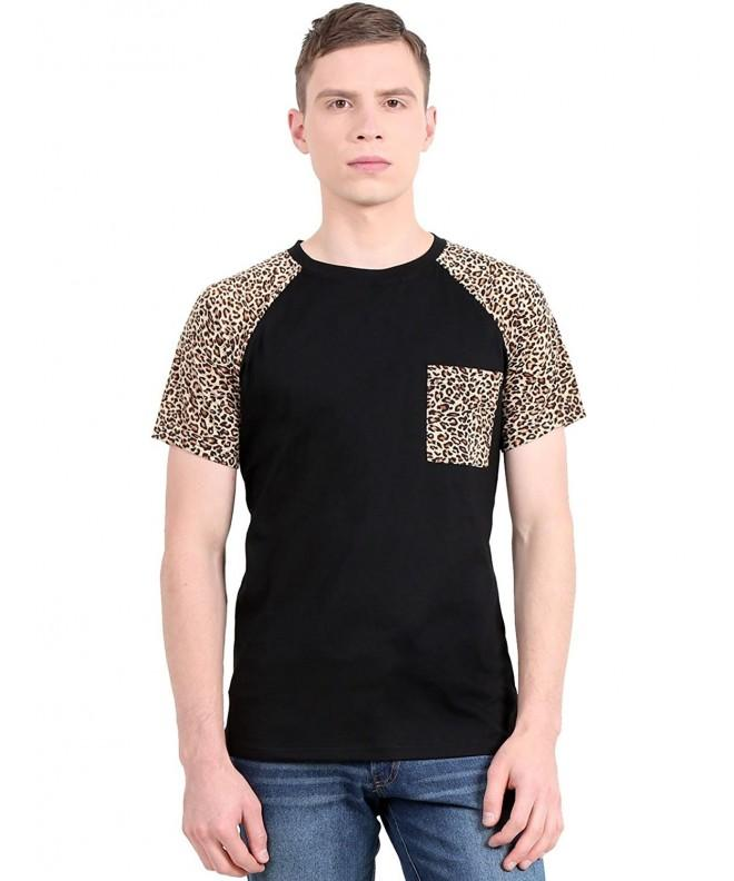 Allegra Raglan Sleeve Leopard Shirts