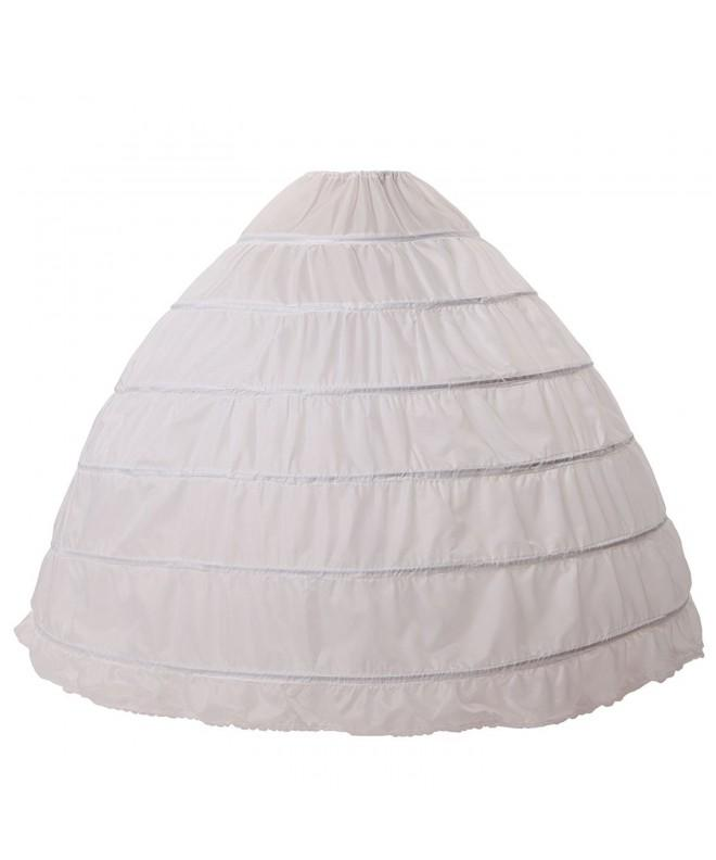 MISSYDRESS line Floor length Bridal Petticoat