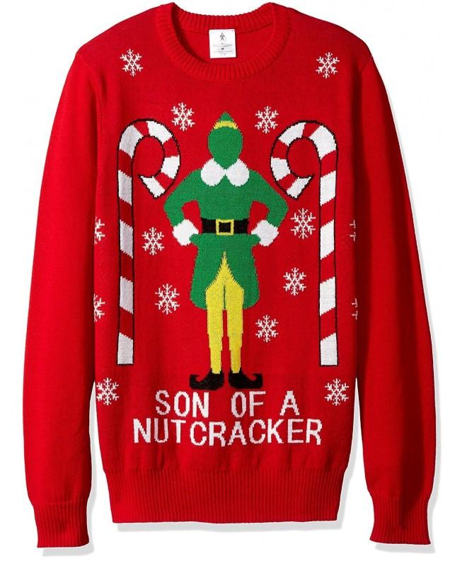 Elf Nutcracker Christmas Sweater Large