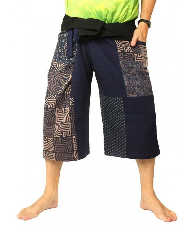 Jing Fisherman Pants Short Patchwork