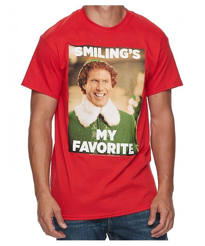 Elf Christmas T Shirt Smilings Favorite