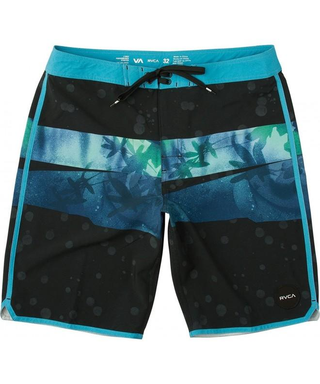 RVCA Mens Chopped Trunk Black