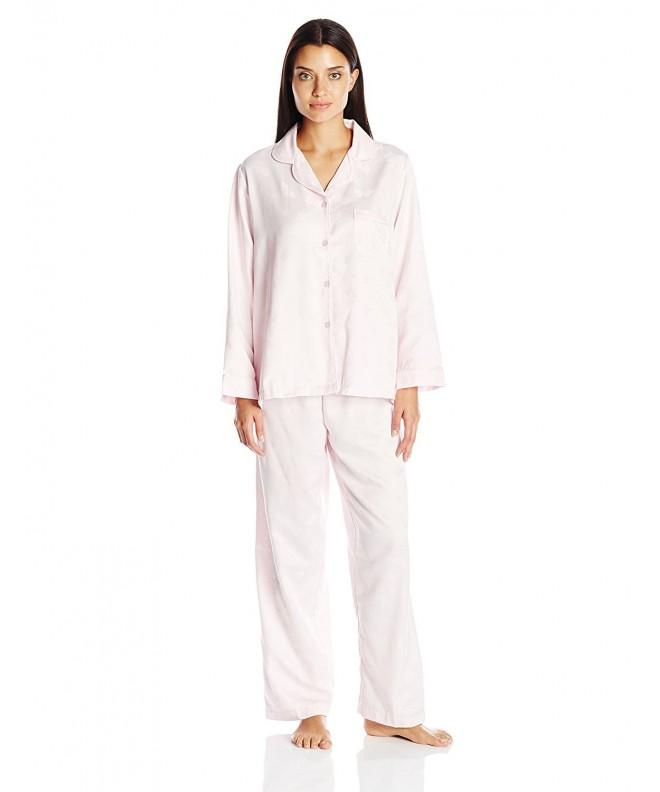 Miss Elaine Womens Brushed Pajamas
