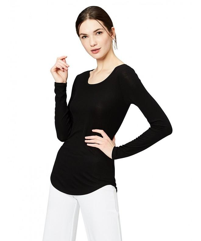 Daily Ritual Womens Ribbed Long Sleeve