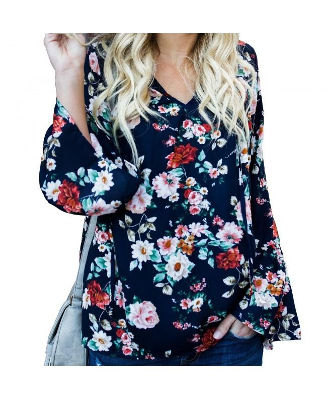 Womens Floral Printed Bohemia T Shirt