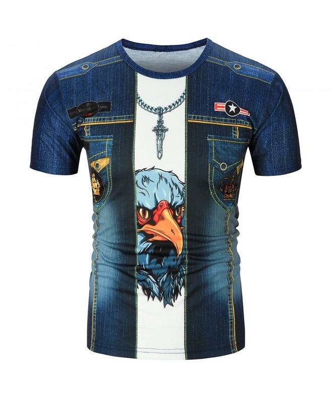 Zacard Fashion T shirt Medium Eagle