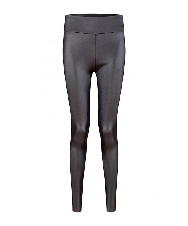 KSKshape Leather Waist Leggings Women