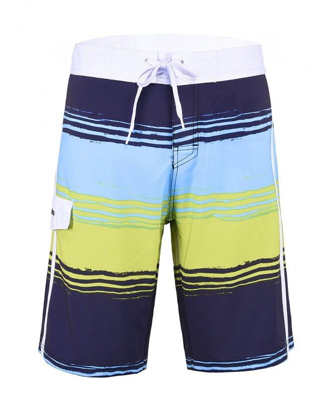 Unitop Mens Swim Trunks Green