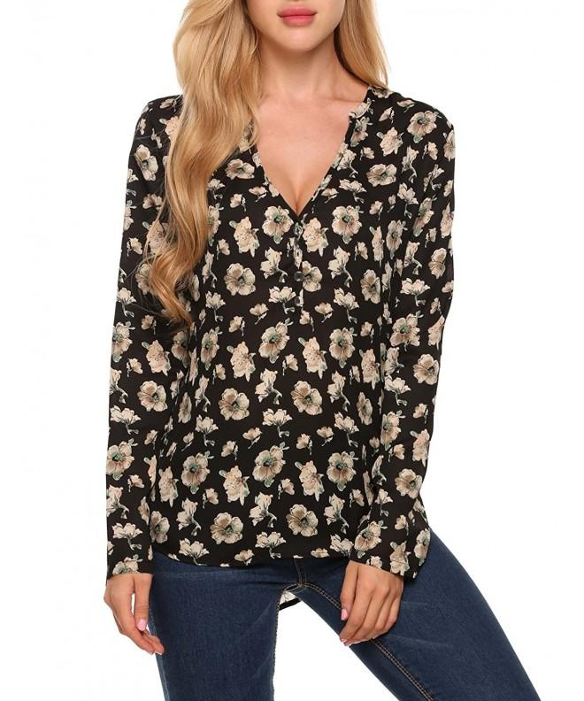 ANGVNS Women Loose Sleeve Chiffon