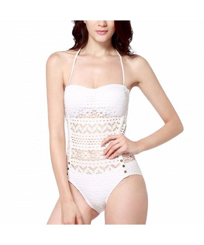 Samtree Swimsuit Crochet Bathing Swimwear