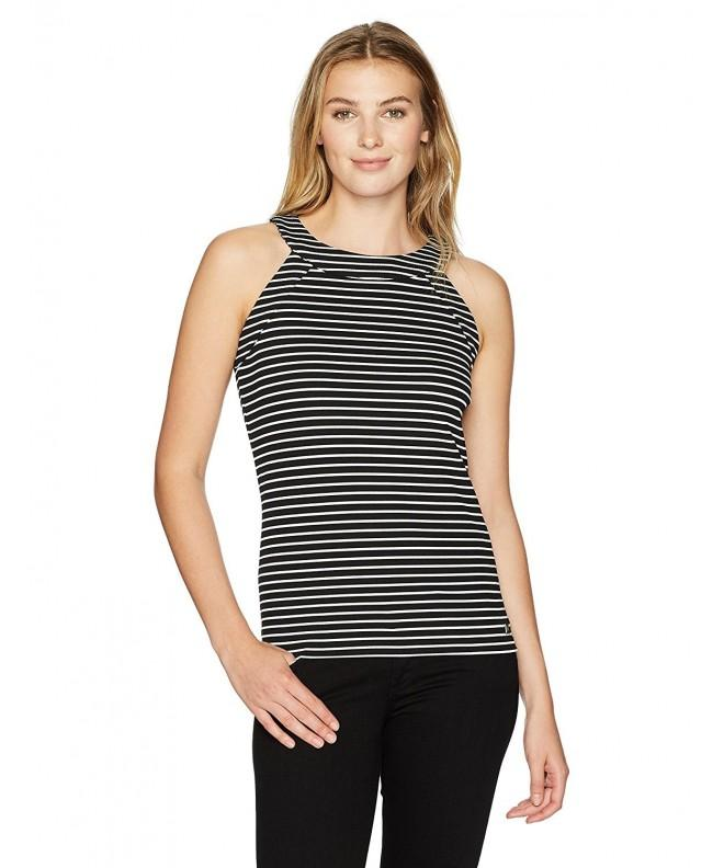 Ivanka Trump Womens Halter Stripe