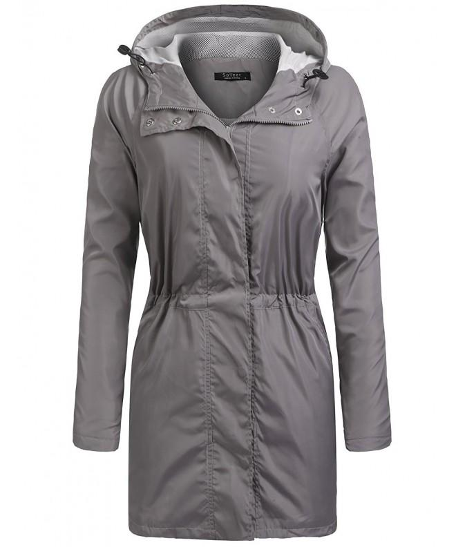 Elover Womens Waterproof Lightweight Windproof