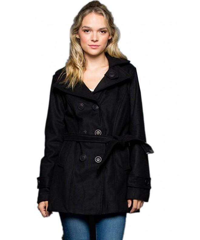 ViiViiKay Military Blended Fashion PeaCoat